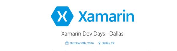 Sponsoring Xamarin Dev Days